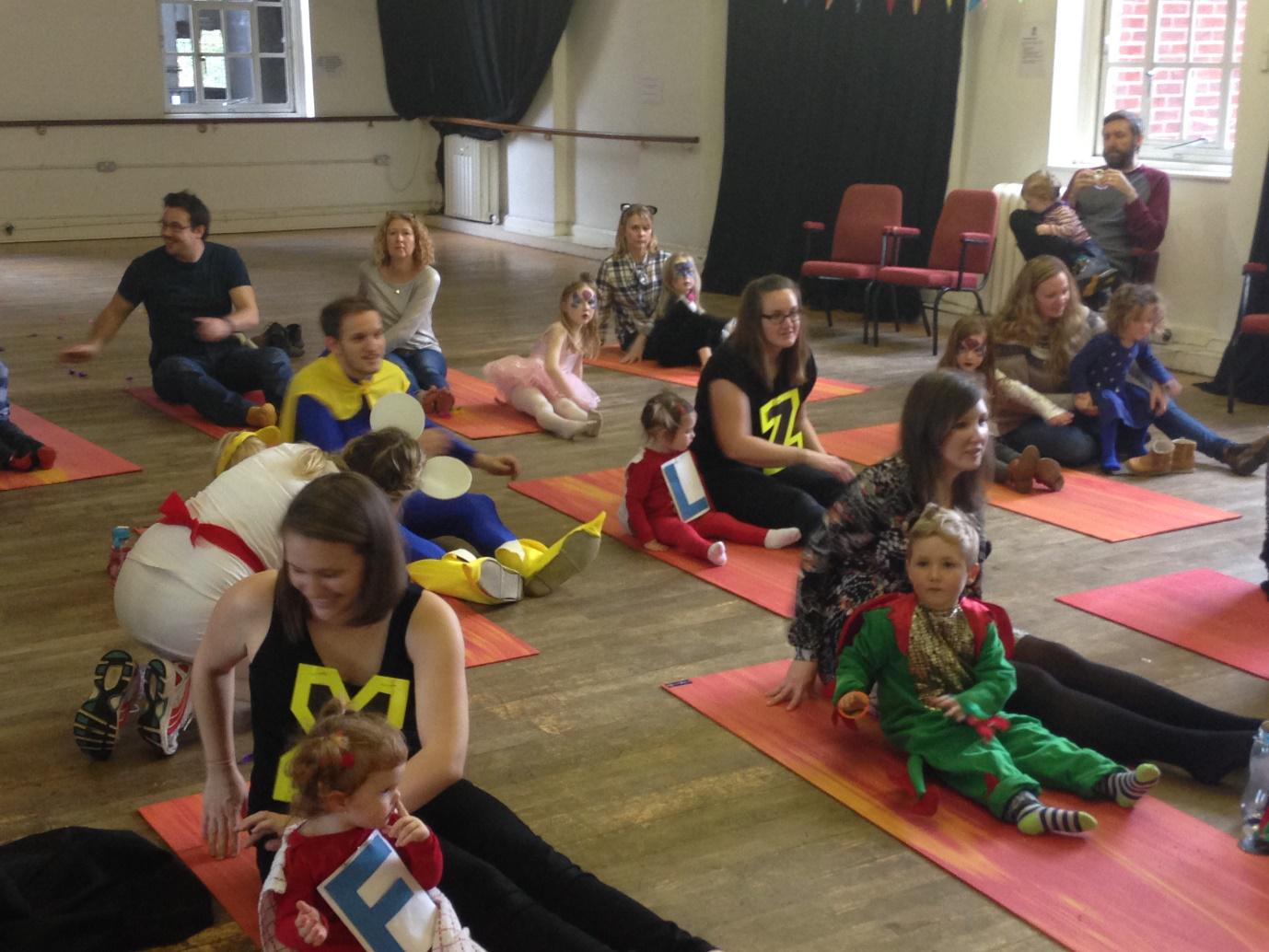 family yoga classes exeter