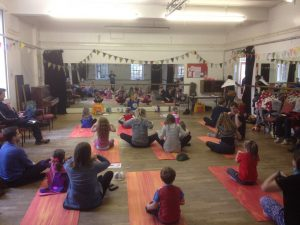 family yoga classes exeter devon