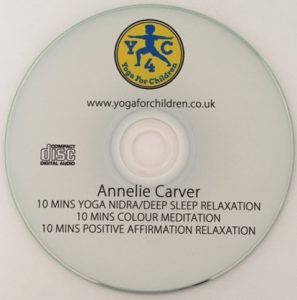 relax yoga for children cd