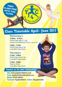 yoga children exeter classes